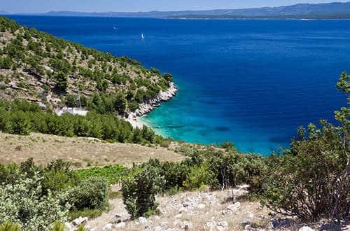 Chorvátsko - ostrov Brač