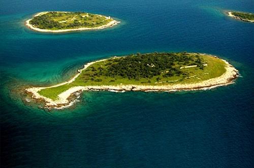 Brijunské ostrovy - Brijuni - Chorvátsko