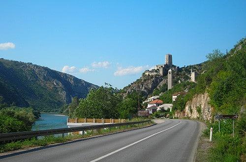 Cesta autom po Chorvátsku