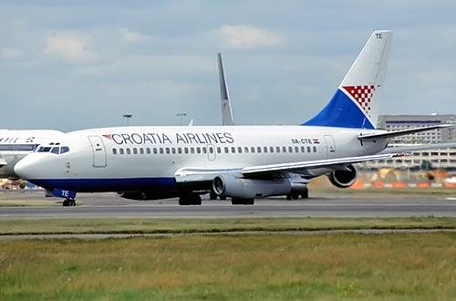 Chorvátsko letecky