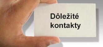 Dôležité kontakty v Chorvátsku