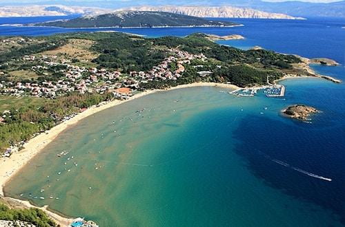 Kvarnerský záliv v Chorvátsku