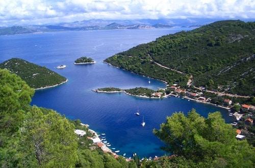 Chorvátsky ostrov Mljet