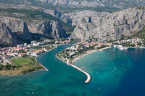 Omiš - Chorvátsko