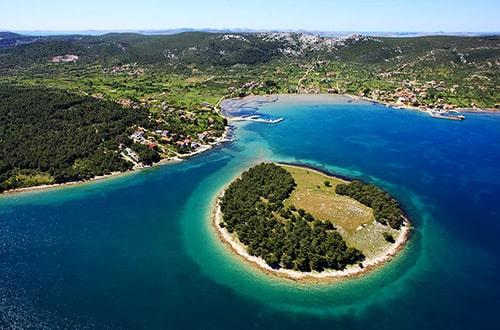 Ostrov Ugljan - Chorvátsko