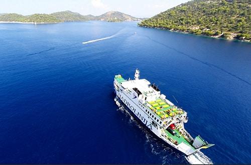 Plavba loďou po Chorvátsku
