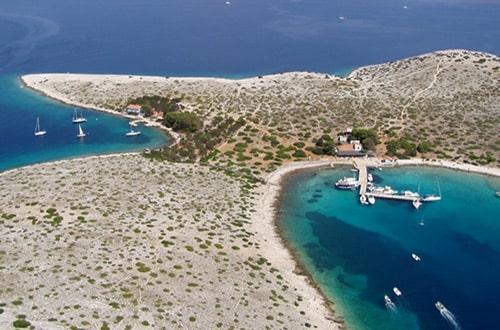 Severná Dalmácia v Chorvátsku