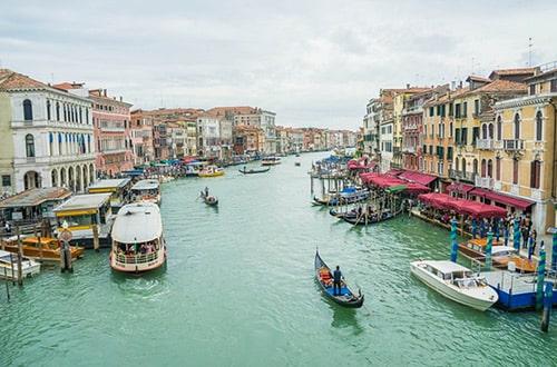 Benátska rivéra v Taliansku