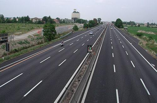 Diaľnica v Taliansku