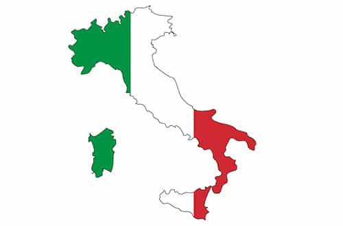 Mapa Talianska