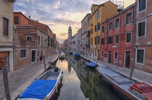 Benátky v Taliansku
