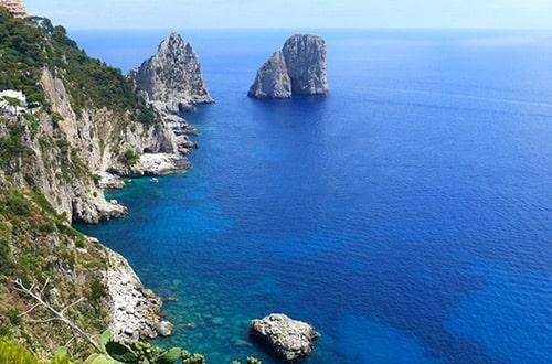 Ostrov Capri v Taliansku