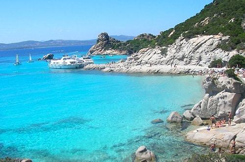 Ostrov Sardínia v Taliansku