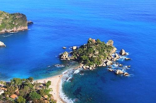 Ostrov Sicília v Taliansku