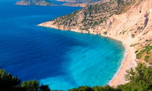 Grécko - pláž