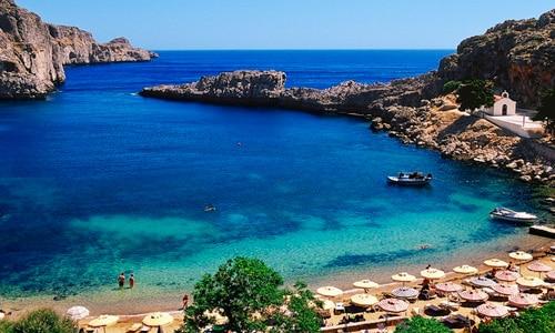 Rhodos - ostrov v Grécku
