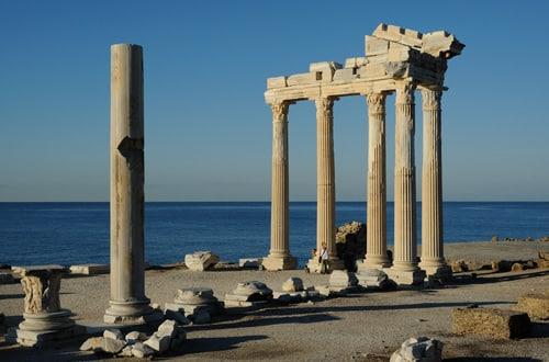 Apolónov chrám - Turecko