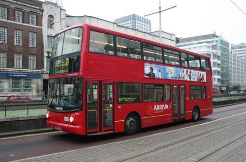 Autobusova doprava - Anglicko