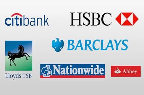 Bankový účet v Anglicku