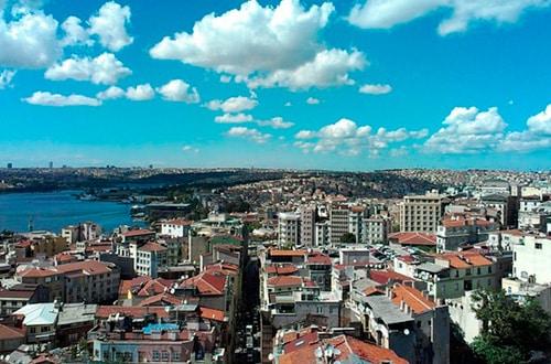 Počasie v Istanbule - Turecko