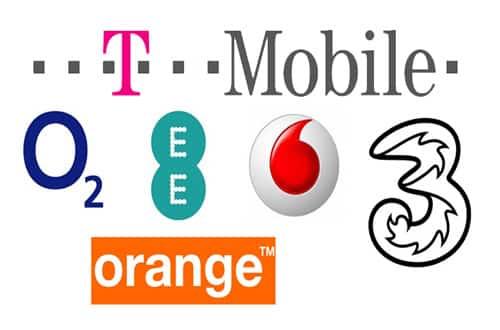 Mobilné siete - Anglicko