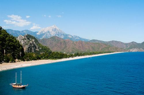 Pláž Olympos - Turecko