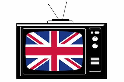 Televízia v Anglicku