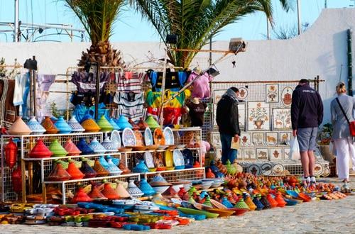 Nakupovanie v Tunisku
