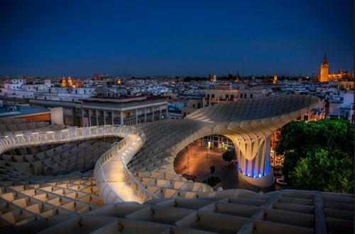 Sevilla v Španielsku