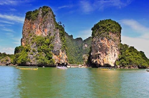 Thajsko - ostrov Jamesa Bonda