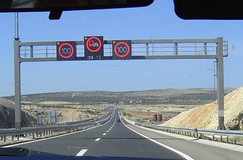 Diaľnica v Chorvátsku