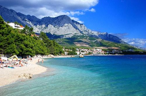 Rajská pláž v Chorvátsku