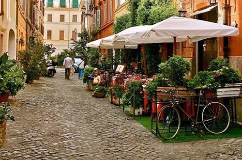 Ulica v Taliansku