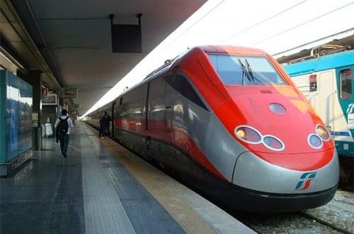 Vlak v Taliansku