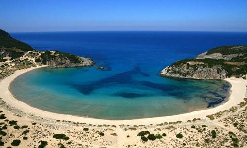 Pláž v Grécku