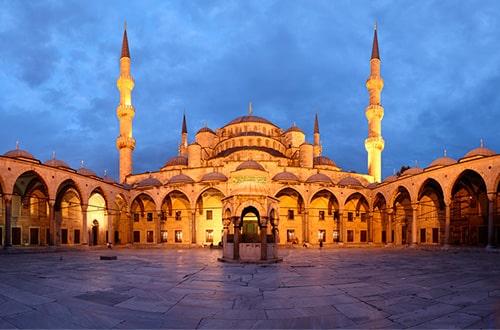 Modrá mešita - Turecko