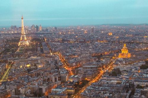Paríž v noci - Francúzsko