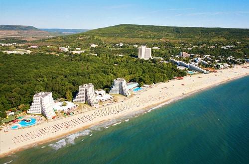 Pláž Čierneho mora - Bulharsko