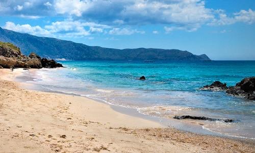 Pláž Elafonisi - Kréta