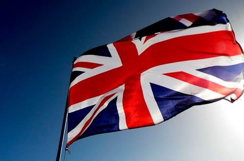 Veľká Británia - vlajka