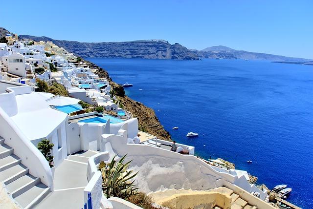 Grécko- Santorini