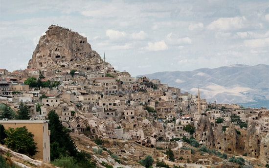 Turecko - mesto v horách