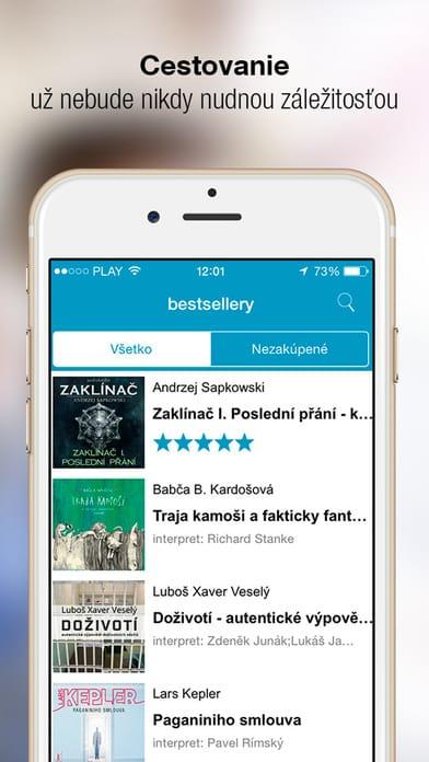 Audioknihy do mobilu