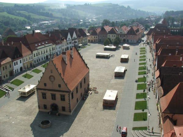 Bardejov - cestovanie po Slovensku