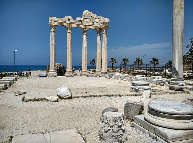 Side v Turecku - antické pamiatky
